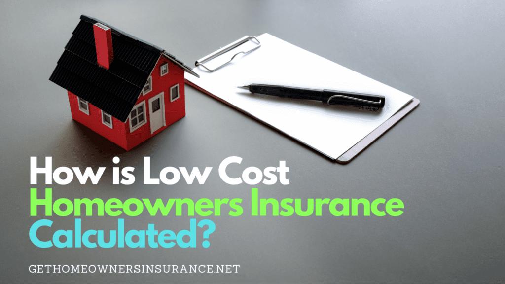 Cheap Home Insurance Calculator