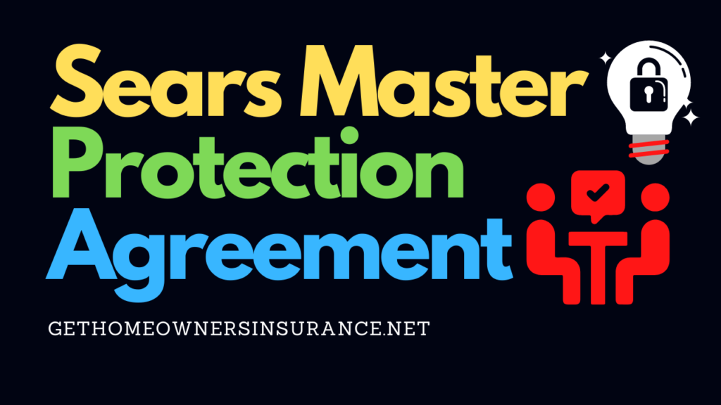 Sears Master Protection Agreement