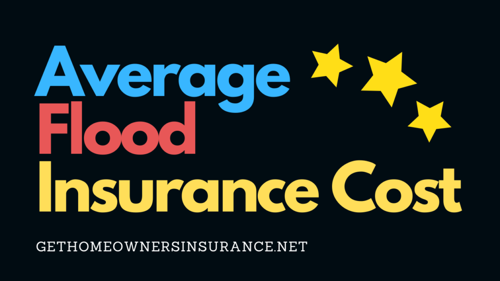 Average Flood Insurance Cost