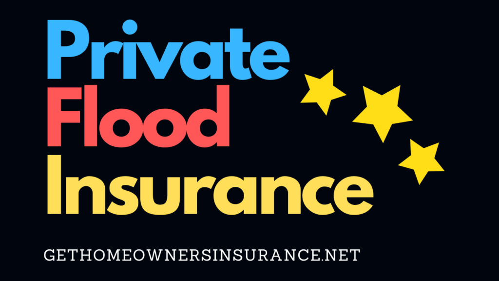 Private Flood Insurance