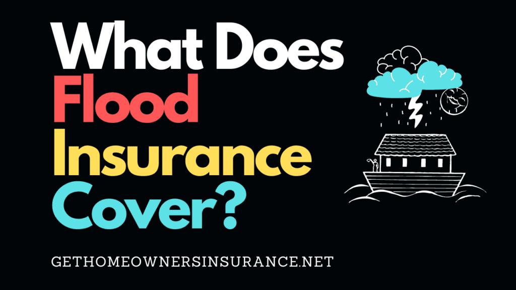 Flood Insurance Cover